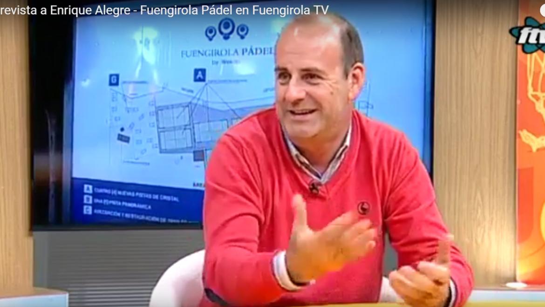 Fuengirola Pádel es noticia en televisión